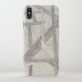 Lines on the L iPhone Case