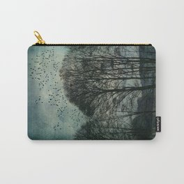 Textured Trees Carry-All Pouch