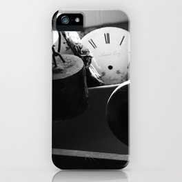 Time stopped / Temps arrêté iPhone Case