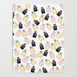 Classic Parfum Pattern Poster