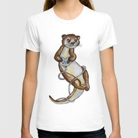 games T-shirts featuring Otter Games by Animal Camp