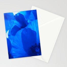 Blue Poppies #decor #society6 #buyart Stationery Cards