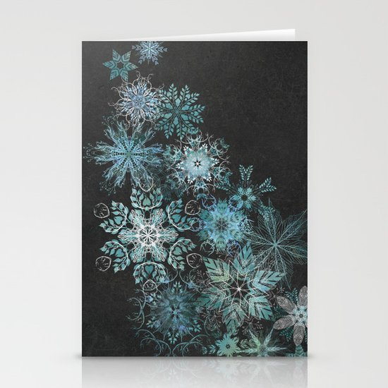 The Mountain Drift Stationery Cards