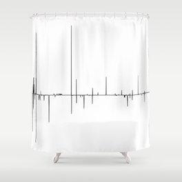 Flow Changes Shower Curtain