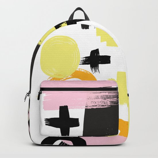 Perception Abstract 001 Backpack
