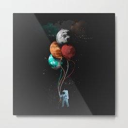 THE ASTRONAUTS PARTY Metal Print