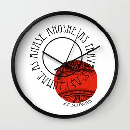 SHADES OF MAGIC | V.E.SCHWAB Wall Clock