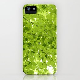 Leaves - JUSTART (c) iPhone Case
