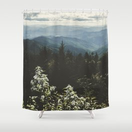 Smoky Mountains - Nature Photography Shower Curtain