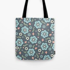 Whimsy Floral Tote Bag