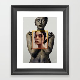 Visceral. Framed Art Print