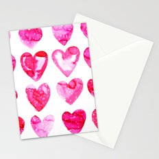 Heart Speckle Stationery Cards