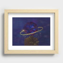 I Contain Multitudes Recessed Framed Print