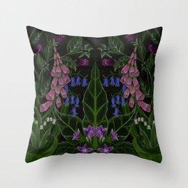 The Poison Garden - Mandragora Throw Pillow