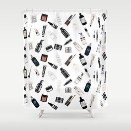 The Black & White shelf Shower Curtain