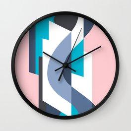 SUISSE - Art Deco Modern: MIAMI DECO Wall Clock