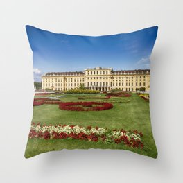 Schloss Schönbrunn Throw Pillow