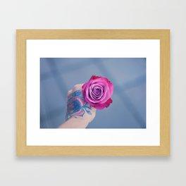 Roses on my mind Framed Art Print