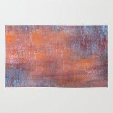Orange Color Fog Rug
