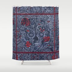 Sensory Overload Americana  Shower Curtain