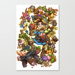 Master Chef Link Canvas Print