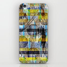 ABSTRACT/LIPSTICK ON A PIG iPhone Skin
