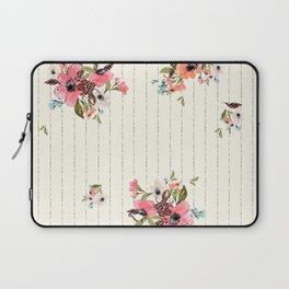 Soft Botanica Pink Boho Laptop Sleeve