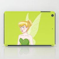 tinker bell iPad Cases featuring Tinker Bell by Fran Abigail