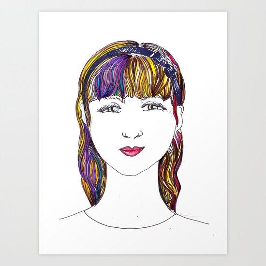 Mandy Art Print