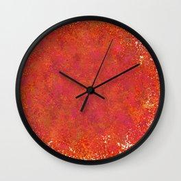 Love splatter Wall Clock
