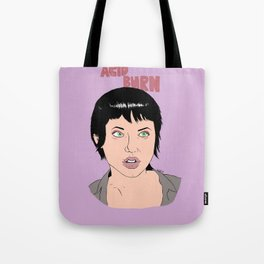 Acid Burn / Kate Libby - Hackers Tote Bag