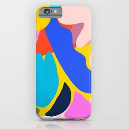 Unbridled Enthusiasm - Shapes and Layers no.38 iPhone Case