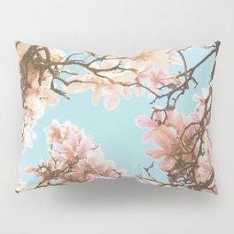 Pink Magnolia Pillow Sham