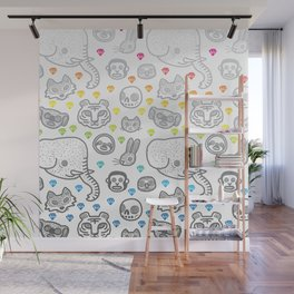Hypno Animals Wall Mural