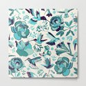 Hummingbird summerdance, Blue by camcreative