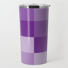 Four Shades of Purple Square Travel Mug
