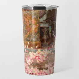 The Roses of Heliogabalus by Sir Lawrence Alma-Tadema Travel Mug