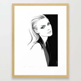 """Jess"" Framed Art Print"
