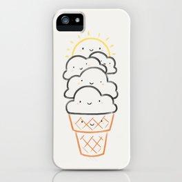 Everyday is like Sundae iPhone Case