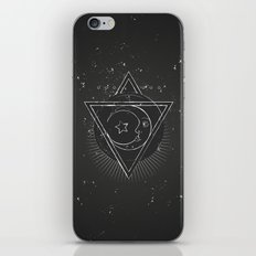 Mysterious moon iPhone & iPod Skin