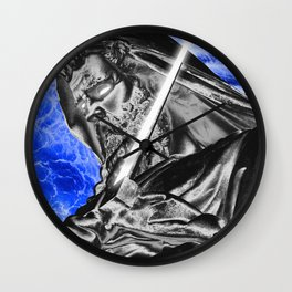Epée Wall Clock