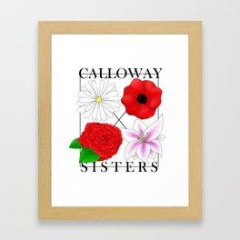 Calloway Sisters Framed Art Print