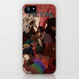 Petals to The Metal iPhone Case