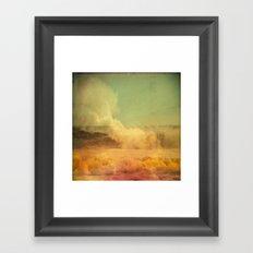 I dreamed a storm of colors Framed Art Print