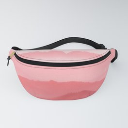 Mountains Layers Fanny Pack
