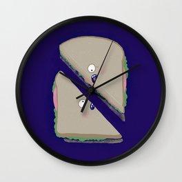 Sammich, triangled Wall Clock