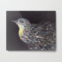 Unraveling by Amy B Chen Metal Print