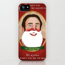 Jolly Ol' St. Nicolas iPhone Case