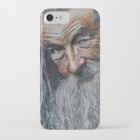 gandalf iPhone & iPod Cases featuring gandalf  by Frageroux