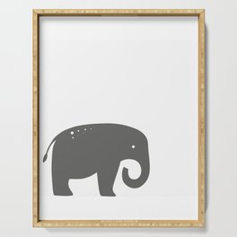 Elly the Elephant Serving Tray